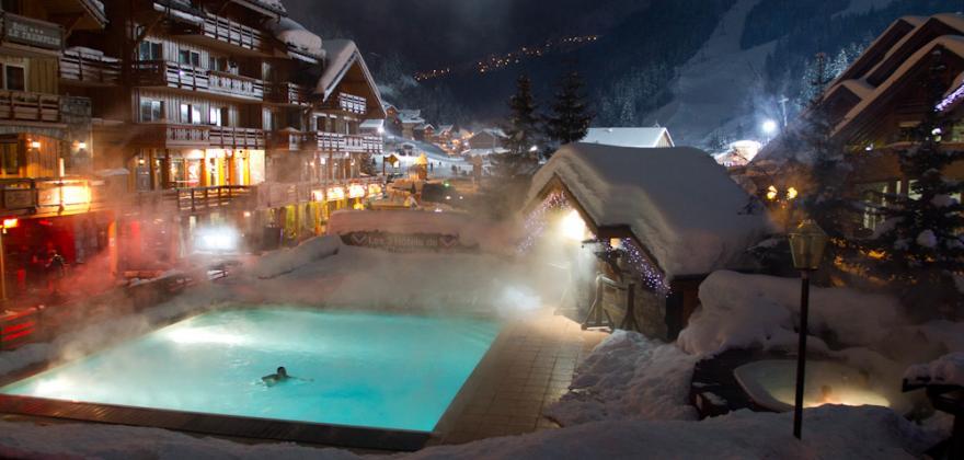 Votre espace SPA à l'hôtel le tremplin meribel cet hiver? voici!