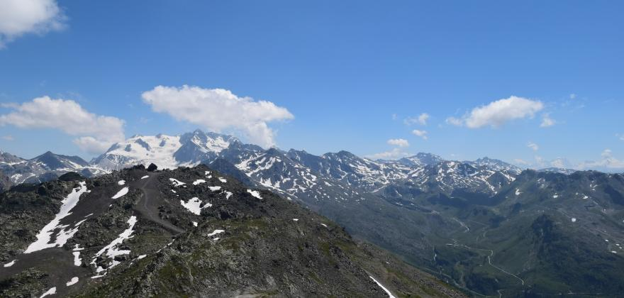 2700m au dessus de Méribel, versant Saulire